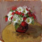 james celano artist painting flowers